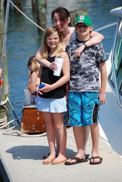 Michele, Josua and Jessica