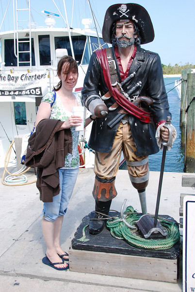 Michele and a pirate