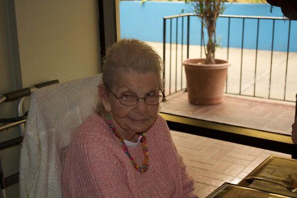 2015-12-20 Mom's 89th Birthday