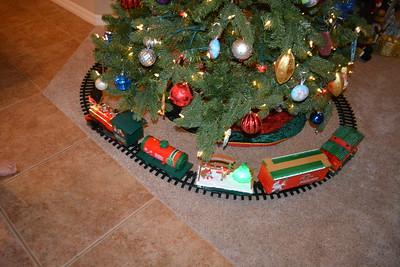 Every tree needs a train...