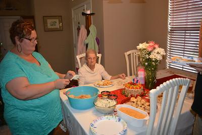 Lori has prepared mom's favorites..