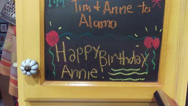 2018 - Anne's Birthday