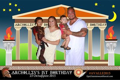 Archilles's 1st Birthday