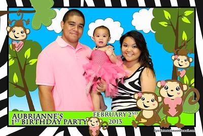 Aubrianne's 1st Birthday Party