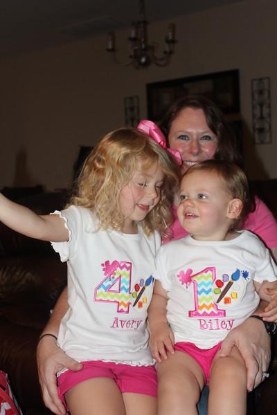Avery 4th Birthday - Art Party - 7/2/16