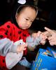 Giving Uncle Ken the finger...! lol