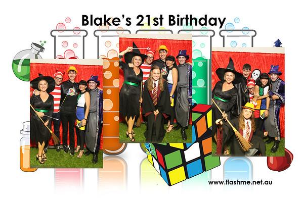 Blake's 21st Birthday - 29 October 2016
