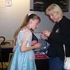 Cassandra & Mom fixing bracelet