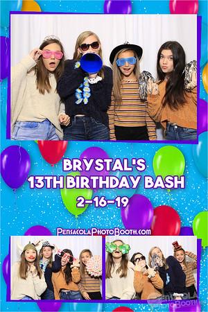 Brystal's 13th Birthday Party 2-16-2019