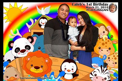 Caleb's 1st Birthday - Greenscreen