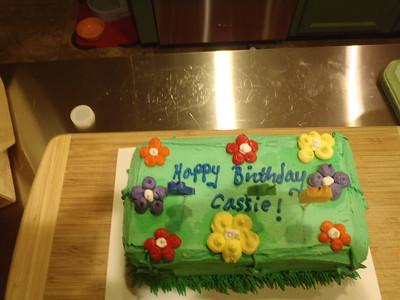 2016 - Cassie's Birthday