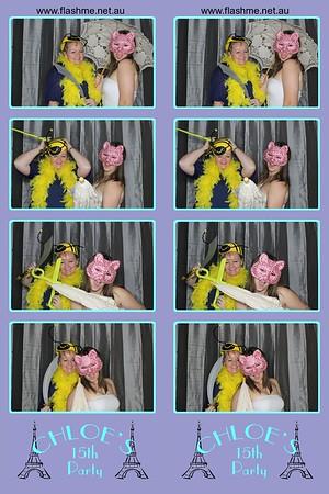 Chloe's 15th Party - 28 May 2016