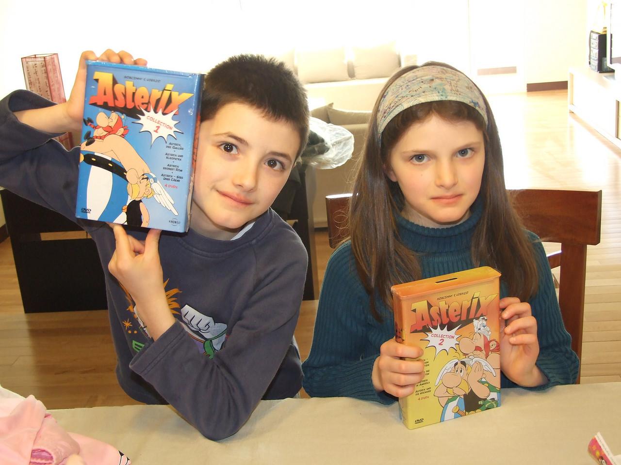 DVD Astérix, même pour Daniel!