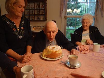 Dad's 88th Birthday April 2012