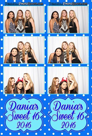 Dania's Sweet 16 -  9-24-2016