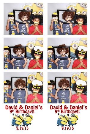 David & Daniel's Birthday