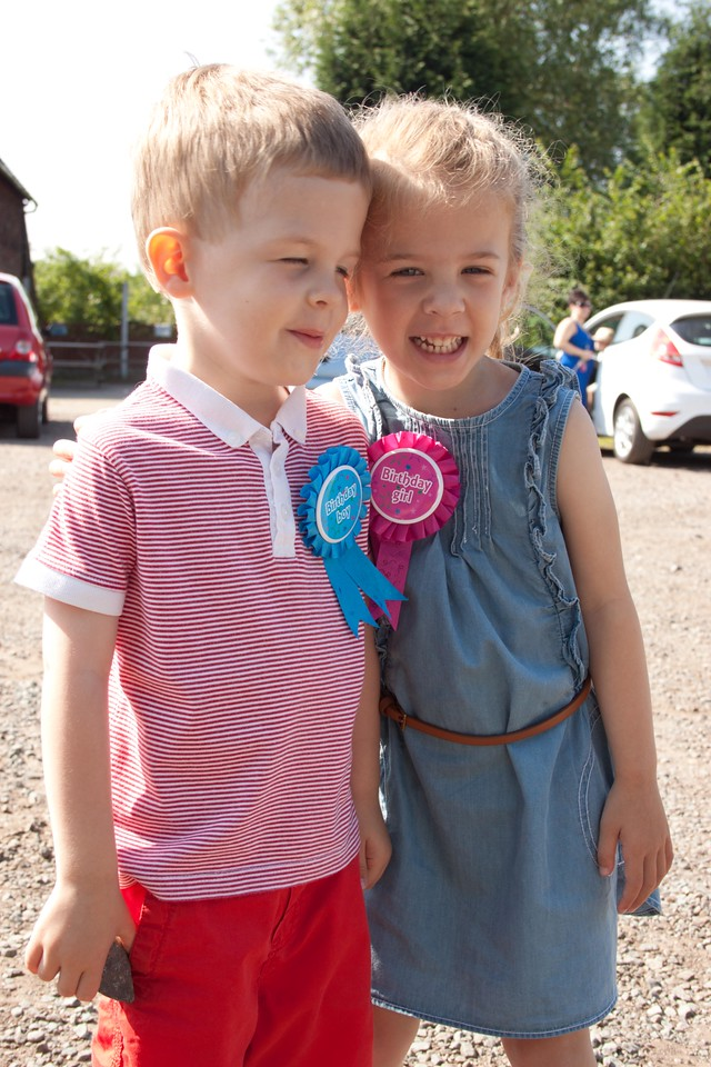 Elsie-May & Lucas are 4