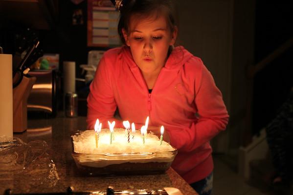 2013 - Emily's 12th Birthday