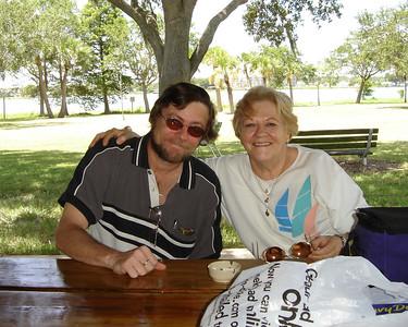 Nicholes dad and Aunt.