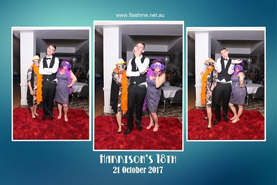 Harrison's 18th - 21 October 2017