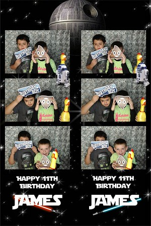 James 11th Birthday