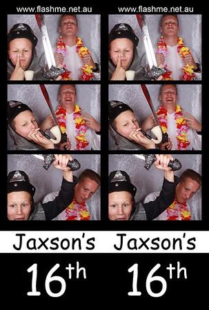 Jaxson's 16th - 5 September 2015
