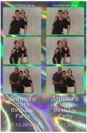 Jemma's 13th Birthday Party - 17 December 2016