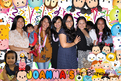 Joanna's 1st birthday