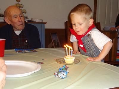 Joey's 3rd Birthday - March 2013