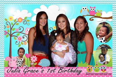 Julia Grace's 1st Birthday