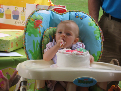 Kadence's 1st Birthday - 9-08