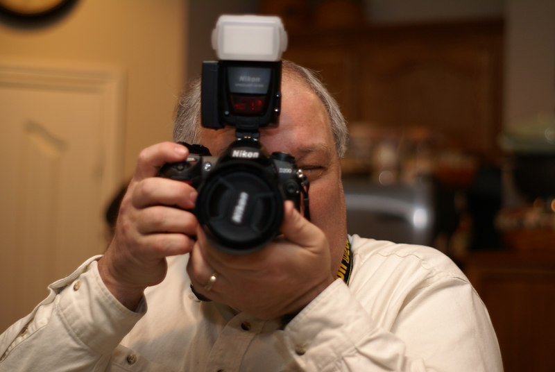 Typical Nikon Shooter....I'm guessing this picture came out just a bit under exposed.....