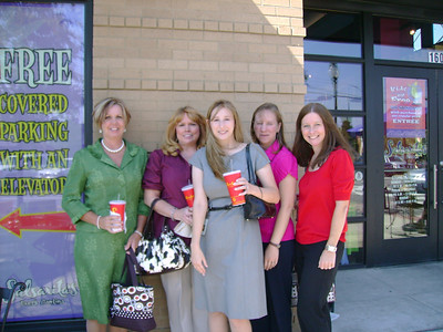 Lunch at Salsaritas in Homewood with Debbie, Paula, Jeni and Kim.