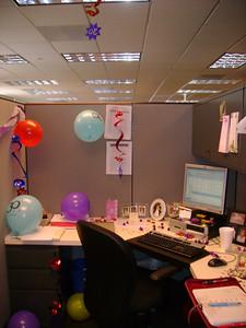Balloons, streamers, confetti . . .