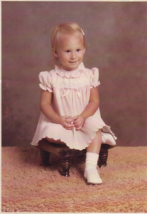 Me, almost two years old.