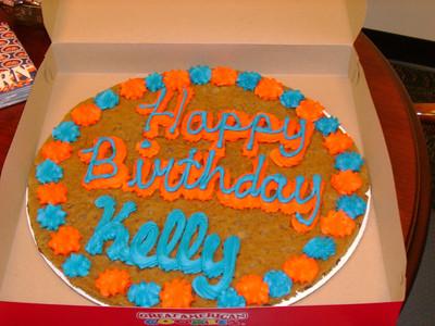 Auburn cookie cake.