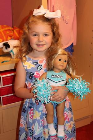 Kyndal's 5th Birthday - American Girl