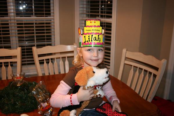 Lilah Birthdays