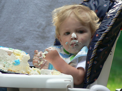 Maddox's 1st Birthday: June 2006