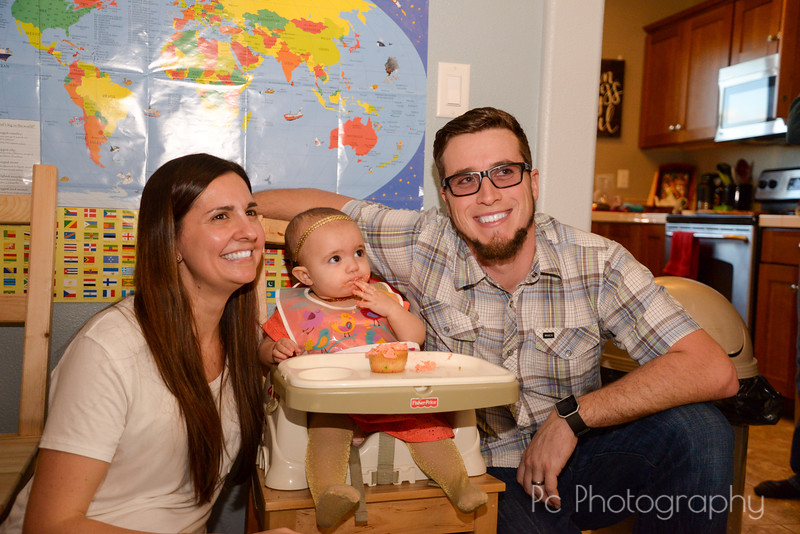 Madison's First Birthday