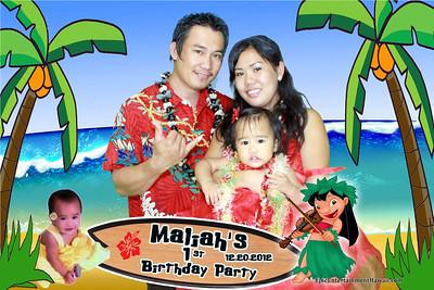 Maliah's 1st Birthday Party