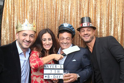Mayer's 70th Birthday