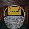 Easter basket, repurposed! Score!