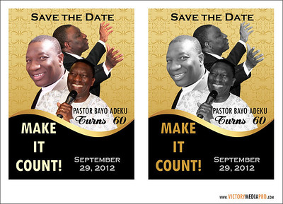Pst Bayo at 60 Save the date