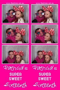 Patricia's Super Sweet 16th - 25 June 2016