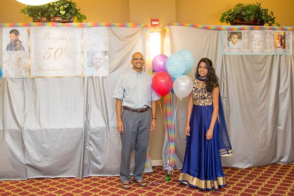 Raghu 50th & Rayna's 16th B'day