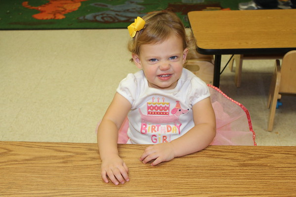 Riley's 2nd Birthday - Daycare