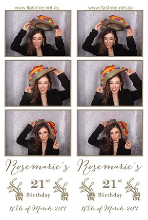Rosemarie's 21st - 18 March 2017