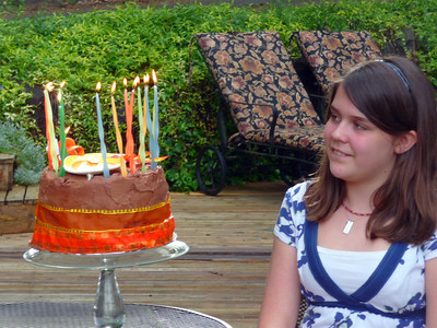 Shea's 13th Birthday: May 2010
