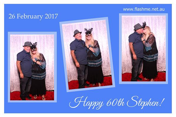 Stephen's 60th - 26 February 2017